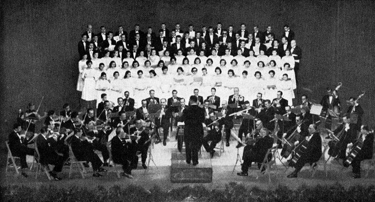 Orquesta Sinfónica y Orfeón Jerezano, 1956